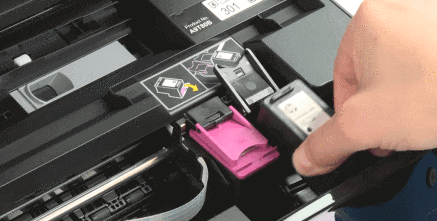 123.hp.com/setup 5055 replace ink cartridge