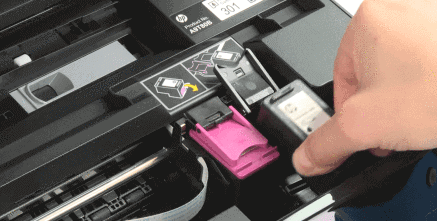 hp envy 7155 replace ink cartridge