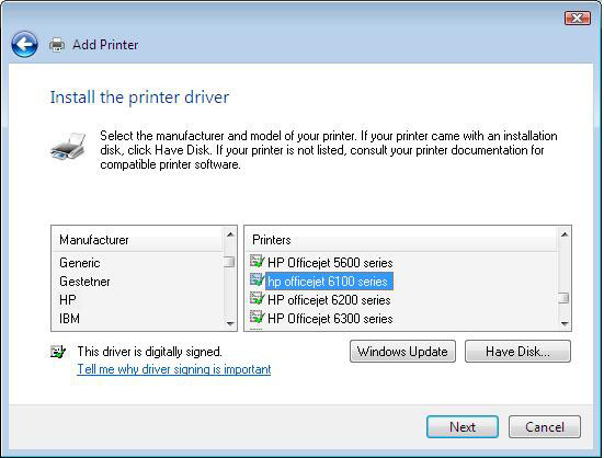 Install HP Officejet 2620 Driver