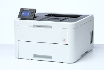 black and white laser printer setup