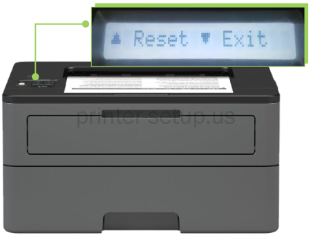 HOW TO FACTORY RESET BROTHER HL-L2370DW XL