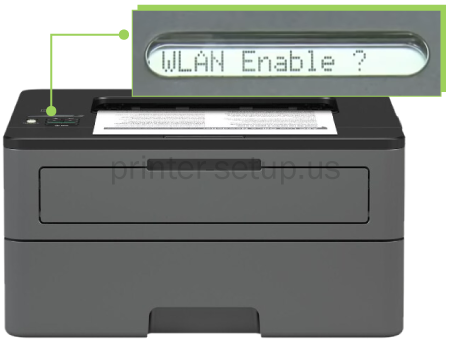 HOW TO CONNECT BROTHER HL-L2370DW XL PRINTER TO WIFI