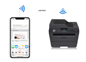brother mfc-l2710dw airprint setup