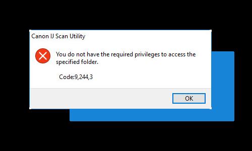 Canon Ij Scan Utility Code 9 244 3