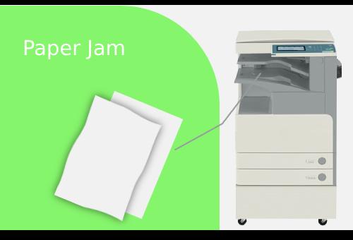 CANON IR3025 PAPER JAM