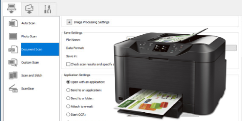 CANON MAXIFY MB5020 SCAN TO COMPUTER