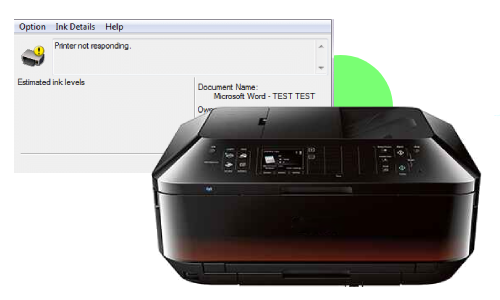 Canon MX920 Printer Not Responding