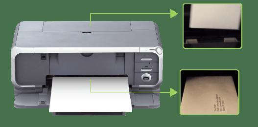 Canon Pixma IP3000 Print Envelope Guidance