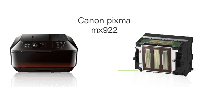 canon pixma mx922 print head