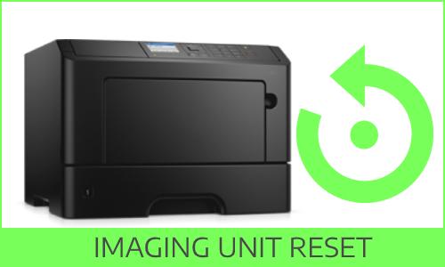 Reset Dell S2839DN Imaging Unit