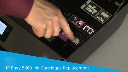 hp envy 5660 ink cartridges replacement