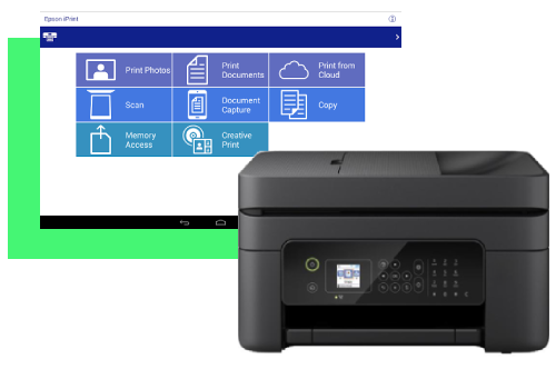 EPSON WF 2830 SCAN TO PC
