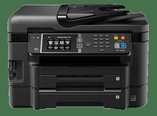 Epson WF-4640 Setup