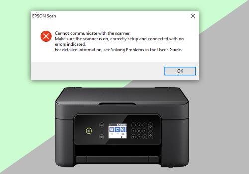 Epson XP-4105 Scan Error Solution