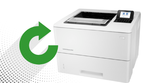 HP Laserjet Enterprise M507n Factory Reset