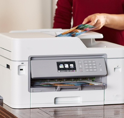 how to print envelopes on brother mfc-j5830dw