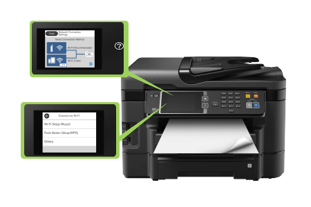 how to connect epson workForce wf-3720 to wifi