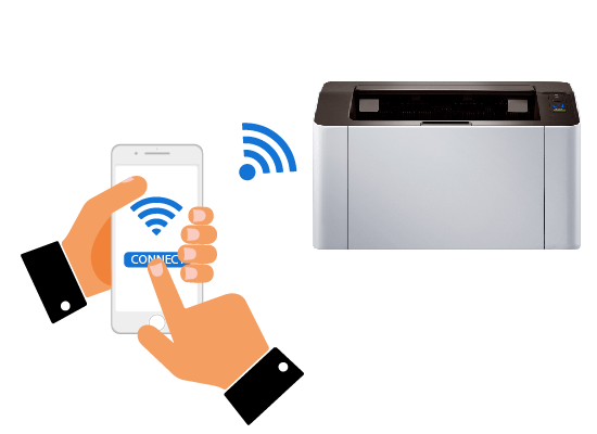 how to connect samsung m2020 printer to wifi