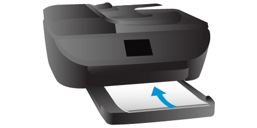 how to load paper in HP Envy 7645 printer