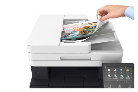 how to setup canon mf634cdw printer