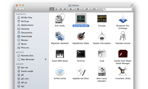 how to uninstall Canon IJ network scan utility from MAC