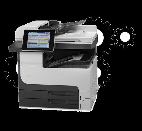HP Laserjet 700 Color Mfp M775z Setup