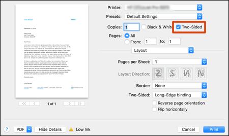 HP Deskjet 1112 Double Side Printing