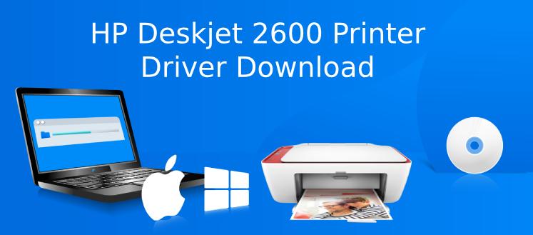 hp deskjet 2600 driver download
