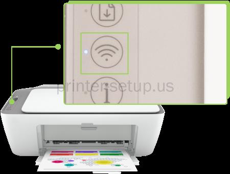 HP Deskjet 2755E Printer  Wireless Setup