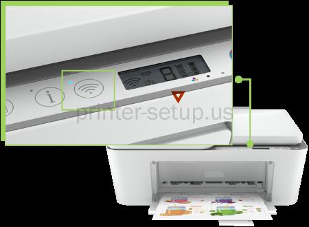 HP Deskjet 4155e Printer Wireless Setup
