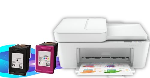 How to Change HP DeskJet Plus 4152 Ink Cartridge?
