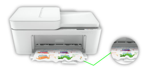 HP DeskJet Plus 4152 Paper Jam Solution