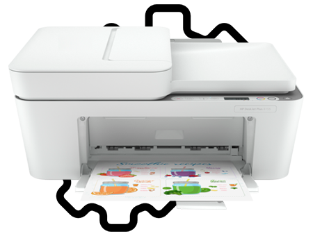 HP DESKJET PLUS 4155 SETUP