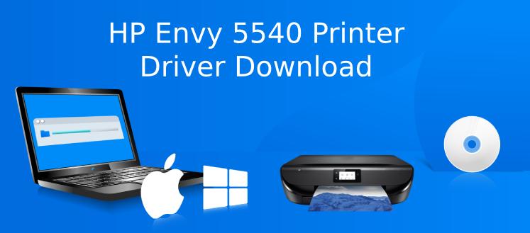 hp envy 5540 driver download