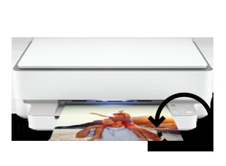 HP Envy 6055e Printer  Scan Setup