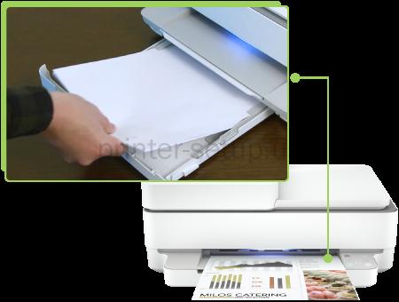 HP 6455e print Setup