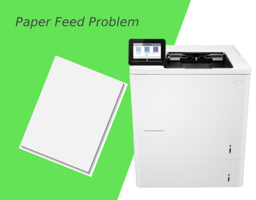 HP LJ Mfp M634h Paper Feed Problem