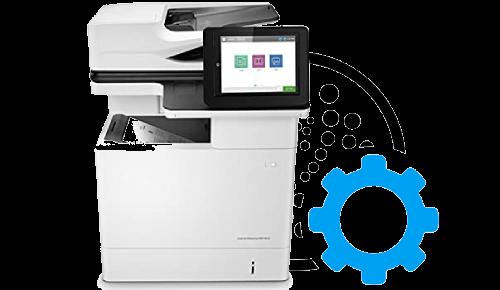 HP Laserjet Enterprise Flow Mfp M632z Print Setup