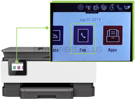 HP Officejet Pro 8020 How to Fax