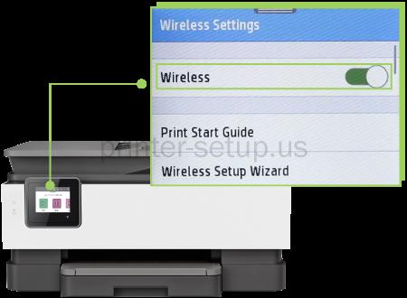 HP Officejet Pro 8020 Wireless Setup