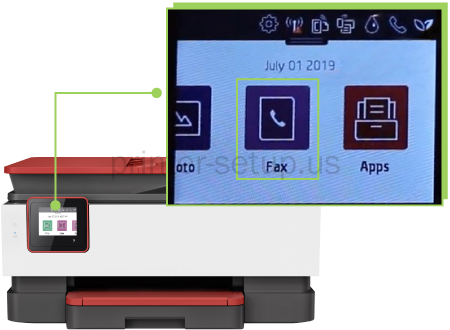 HP Officejet Pro 8035e How to Fax