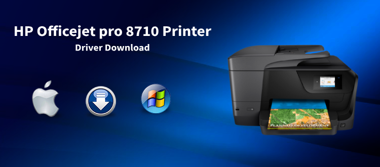 HP Officejet Pro 8710 Printer Drivers and Software Download for Windows 10, 8, 7, Vista, XP and Mac OS. HP Officejet Pro 8710 Driver for Windows 10, 8.1, and 8 – Download