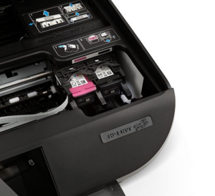 123 hp officejet 4510 ink replace