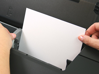 hp printer load paper into tray