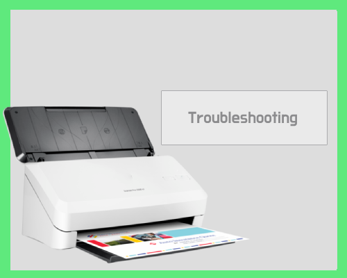 HP Scanjet Pro 2000 S2 Troubleshooting