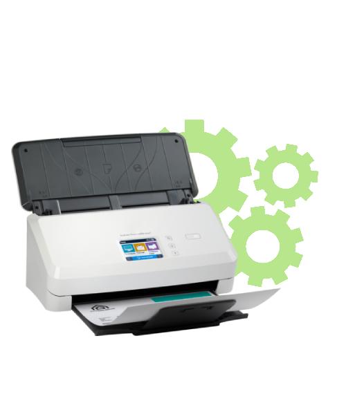 HP Scanjet Pro N4000 Snw1 Setup