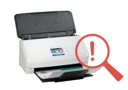 HP Scanjet Pro N4000 Snw1 Wont Scan