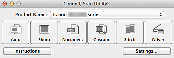 Canon IJ Scan Utility Download MAC