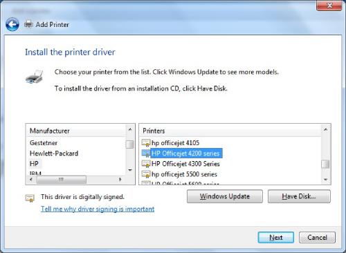 hp officejet 4215 driver installation