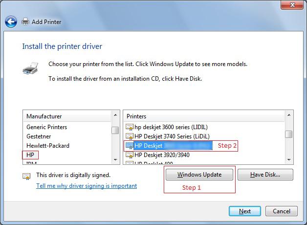 Install HP Deskjet 1050 Driver